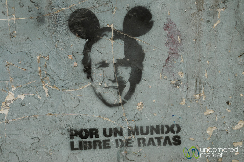 For a World Free of Rats - Santiago, Chile