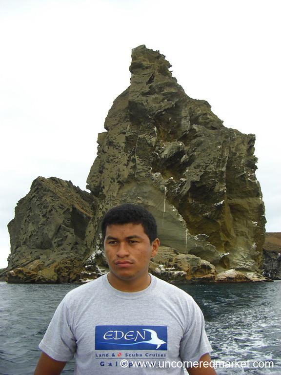 Our Man Sergio - Galapagos Islands