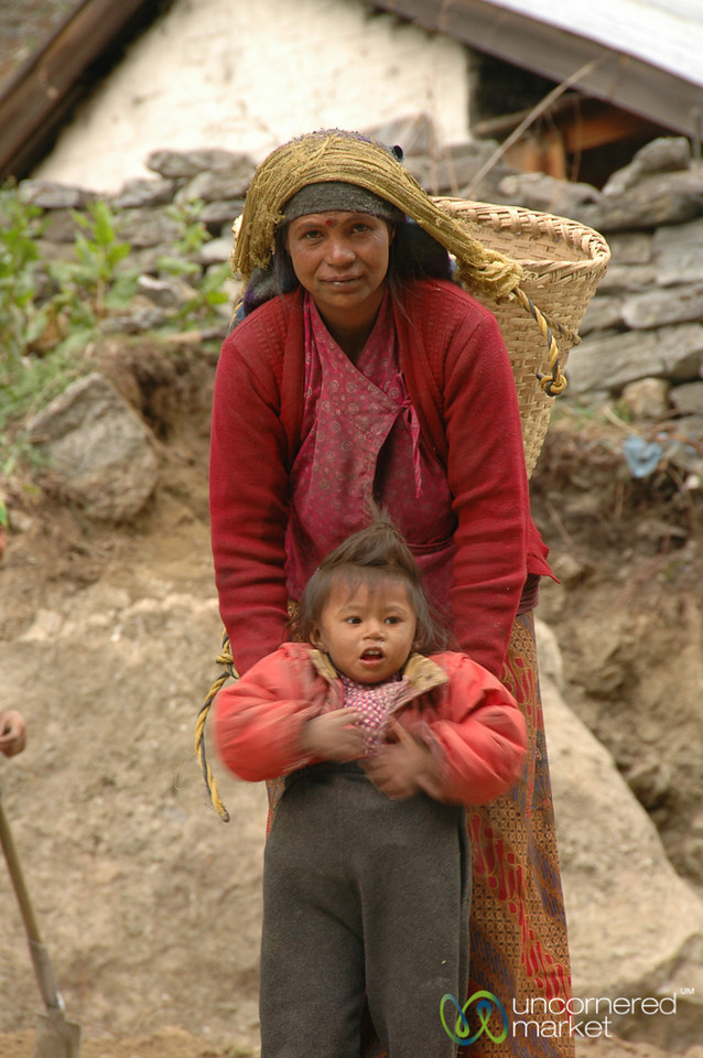 Pants a Little Too Big - Annapurna Circuit, Nepal
