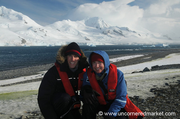 Hamming It Up in the South Shetland Islands - Antarctica