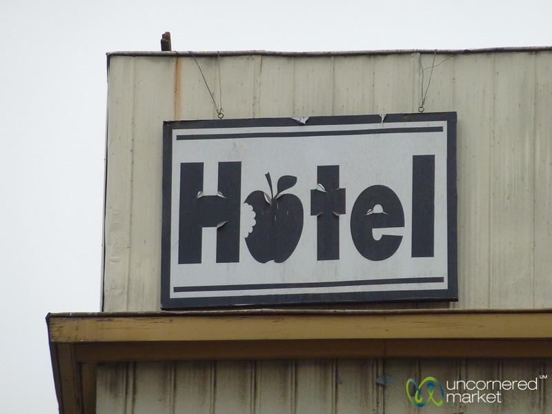 Apple Hotel? Valparaiso, Chile
