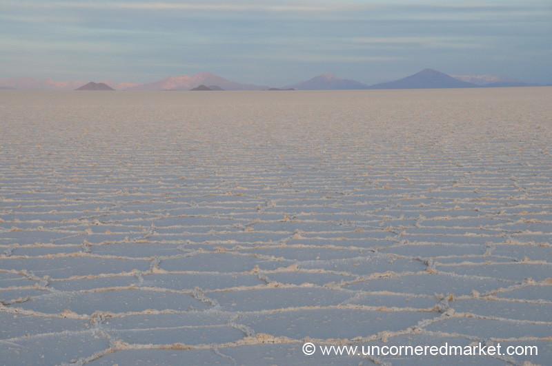 Salt Sunrise - Salar de Uyuni, Bolivia
