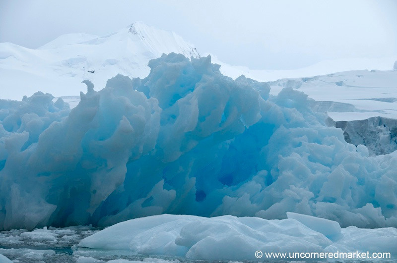 More Incredible Blue Ice in Antarctica