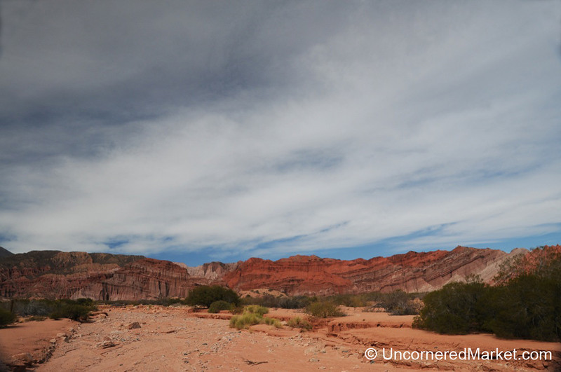 Red Rocks, Blue Skies, White Clouds - Northern Argentina