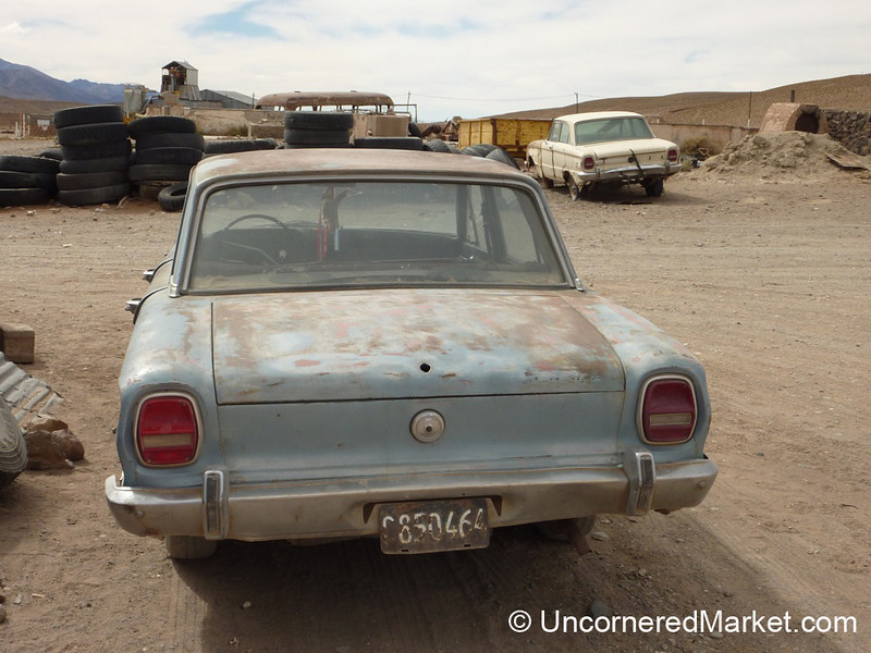 Old Cars in High Places - San Antonio de los Cobres, Argentina