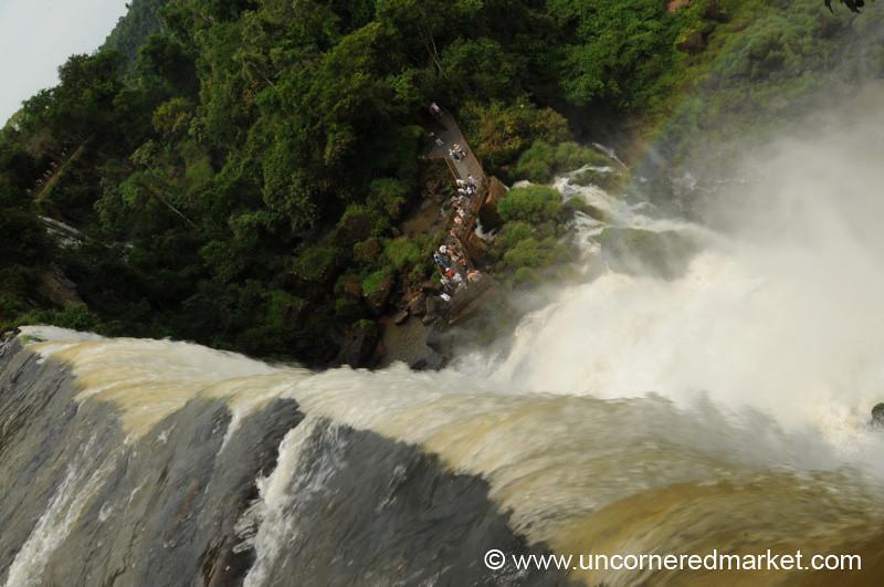 Crush of Water - Iguazu Falls, Argentina