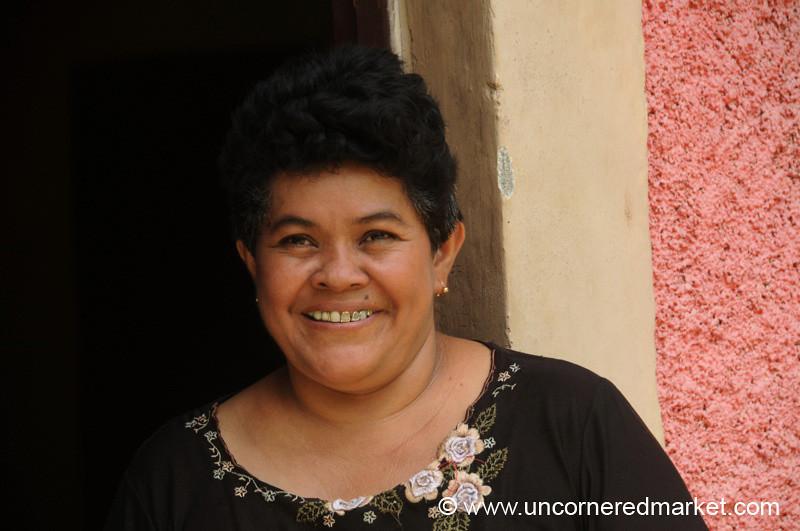 Proud Smile - Masaya, Nicaragua