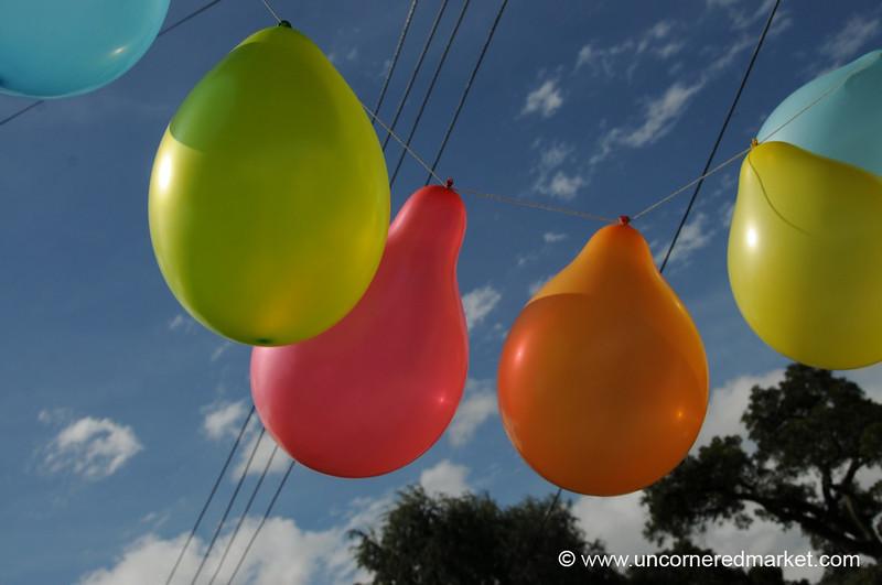 Balloons on a Kids Birthday - Salta, Argentina