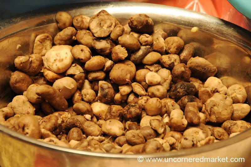 Dried Potatoes (Chuno) - Tupiza, Bolivia