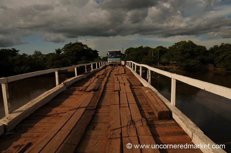 Steady on the Bridge - Outside Concepcion, Paraguay