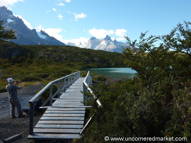End of First Day of Hiking - Torres del Paine, Chile
