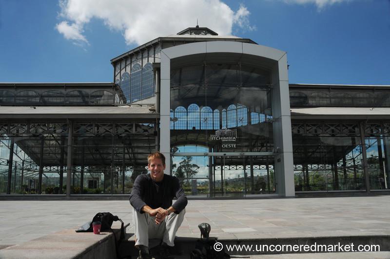 Dan at Itchimbia - Quito, Ecuador