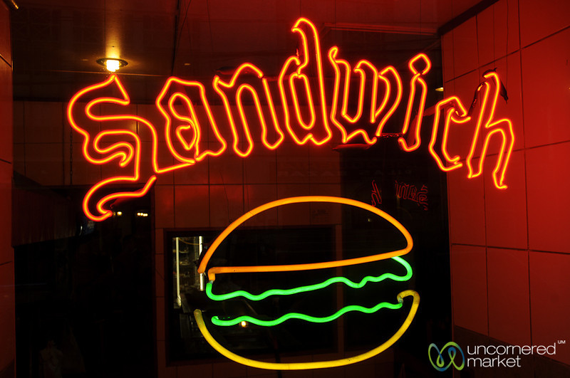 The Mighty Sandwich - Valparaiso, Chile