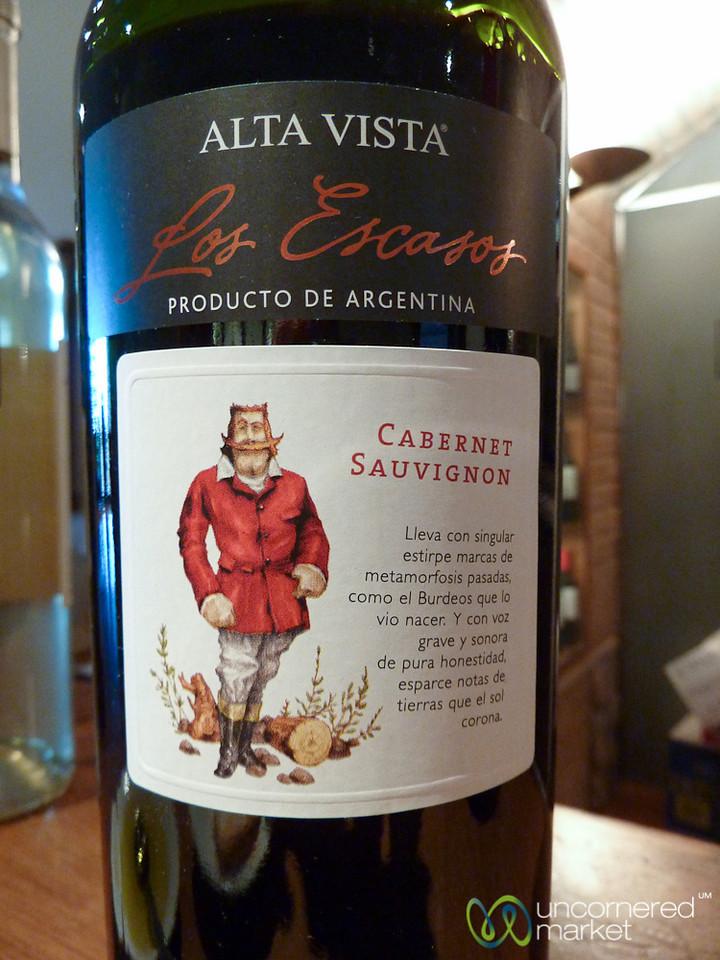 Cabernet Sauvignon at Alta Visa Winery - Mendoza, Argentina