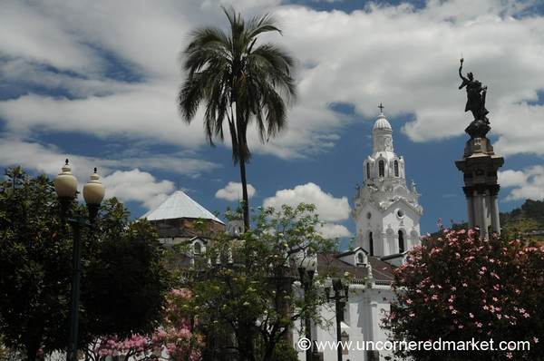 Quito's Cathedral on Plaza Grande