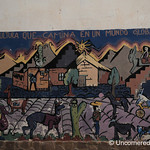 Mural on Culture and Globalization - Humahuaca, Argentina