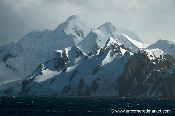 Antarctica Mountain Vistas