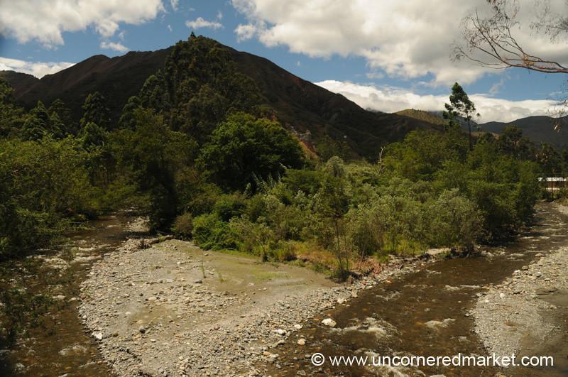 Two Streams in Vilcabamba - Ecuador