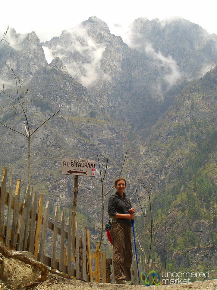 Restaurant in the Middle of Nowhere - Annapurna Circuit, Nepal
