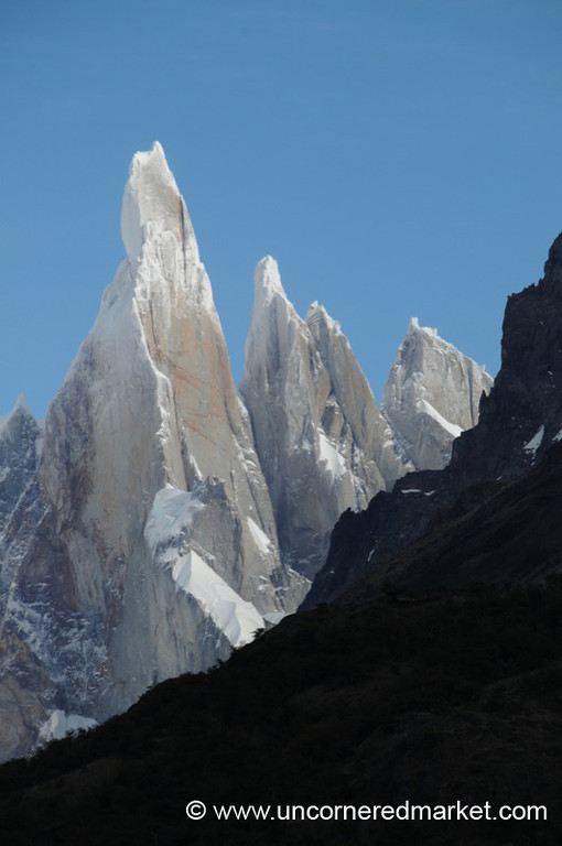 Snow Dusted Peaks at El Chalten, Argentina