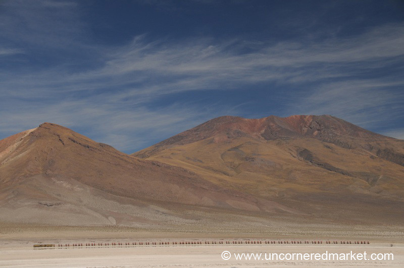 Long Haul Train - Salar Tour, Bolivia