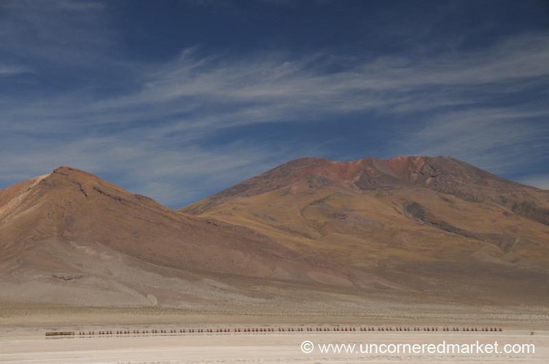 Long Haul Train - Salar Tour, Bolivia