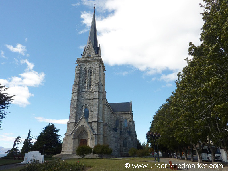 Cathedral of San Carlos in Bariloche, Argentina