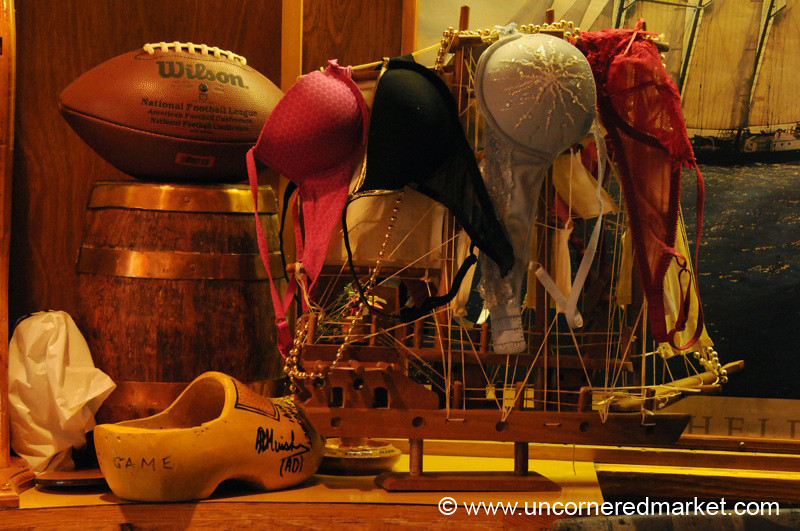 Bras at the Bar - Vernadsky Station in Antarctica