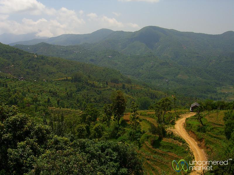Fields and Hills Around Bandipur, Nepal