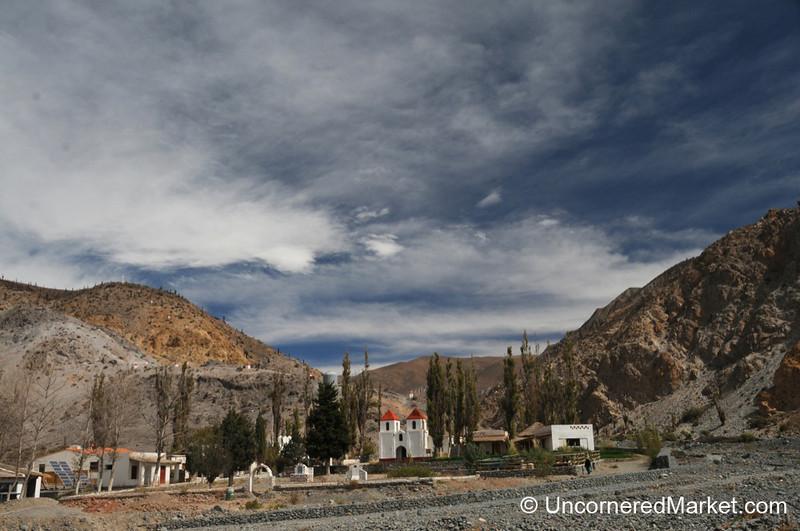 Small Church Amidst the Hills - Northwestern Argentina