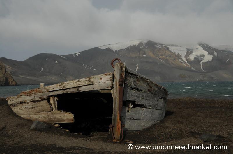 Abandoned Whaler's Boat - Antarctica