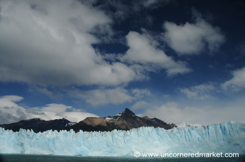 Blue Skies and Glaciers - El Calafate, Argentina