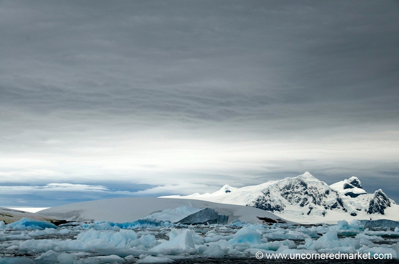 Mountains and Ice in Antarctica