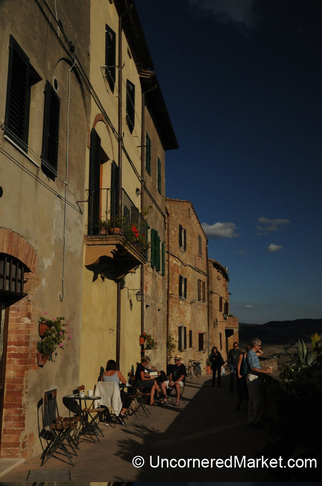 Outer Edge of Pienza - Tuscany, Italy