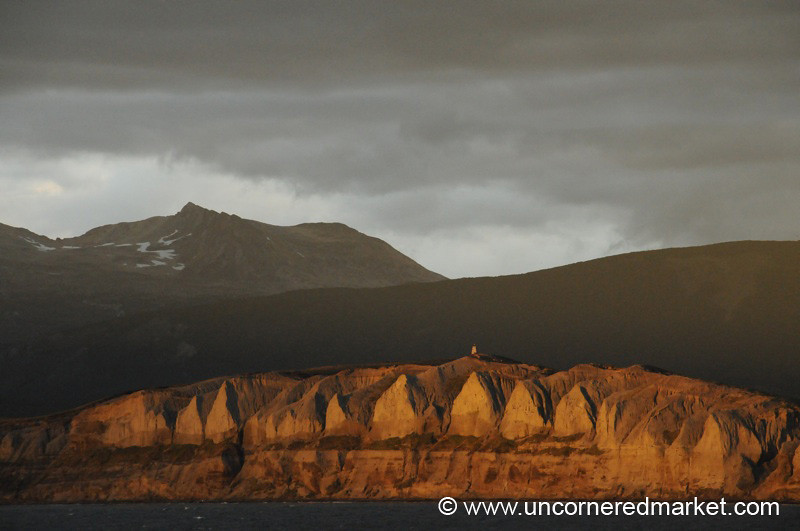 In the Beagle Channel at Dusk - Argentina