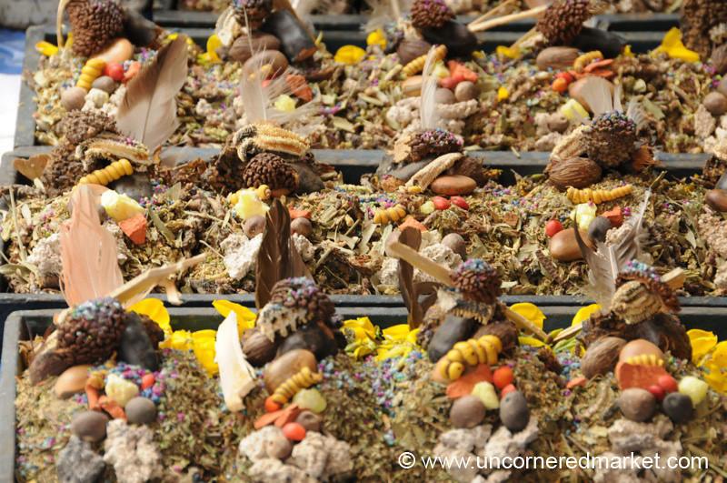 Pachamama Offerings - La Paz, Bolivia