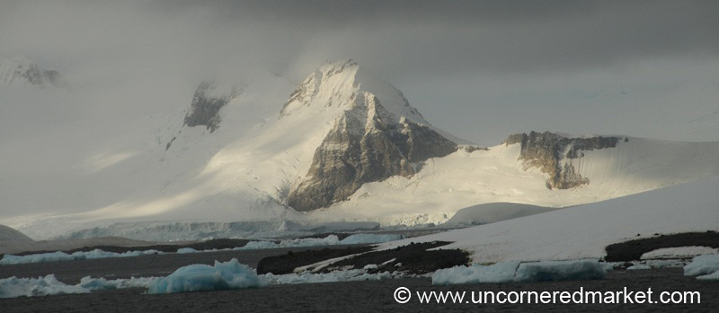 Mountains, Icebergs and Glaciers - Antarctica