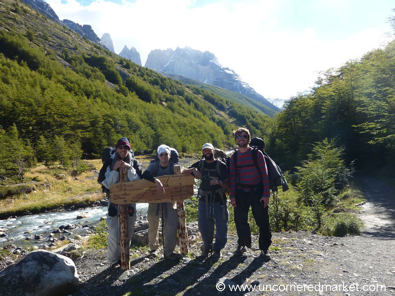Trekking Pals in Torres del Paine National Park, Chile