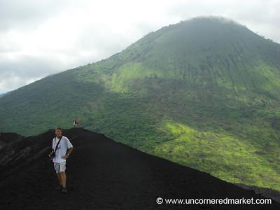 Dan at Cerro Negro Volcano - Nicaragua