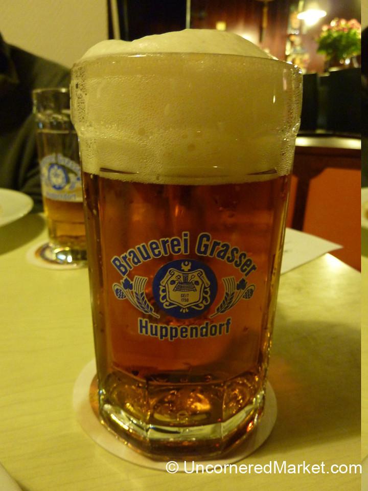 An Excellent Brew in Thurnau, Bavaria