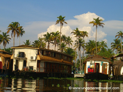 Houseboatscape: Kerala Backwaters