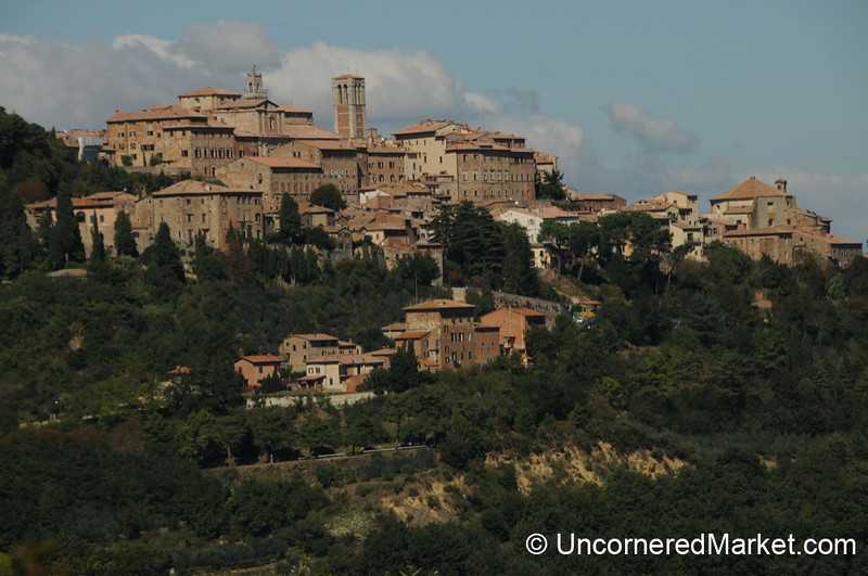 View of Montepulciano - Tuscany, Italy