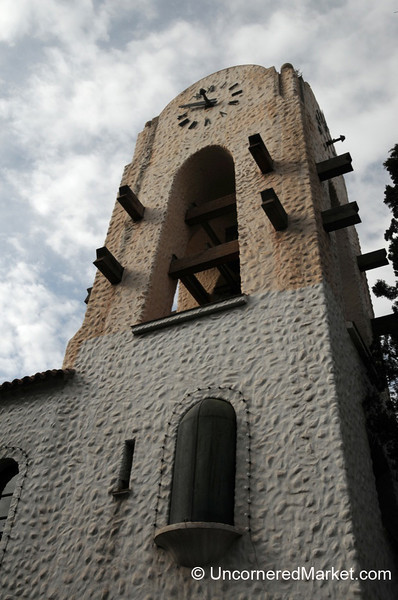 Stucco Church in Humahuaca, Argentina