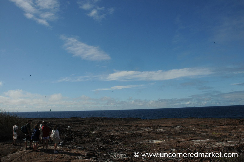 A View from Espanola Island - Galapagos