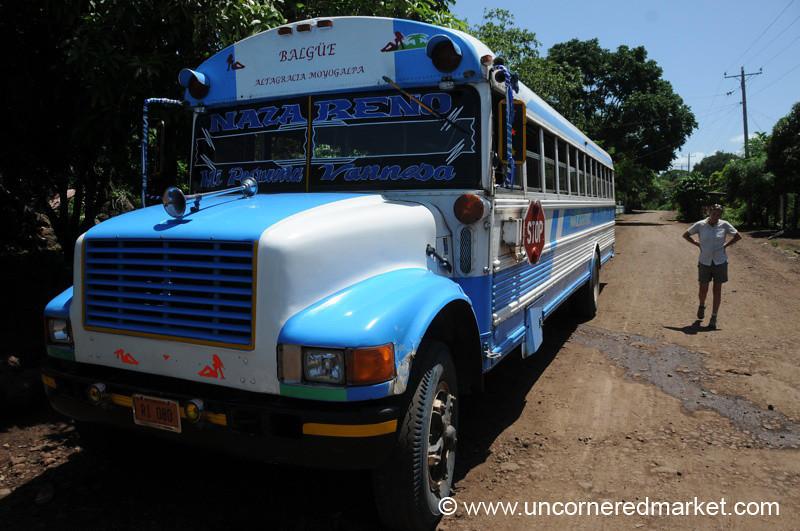 Trying to Catch a Ride - Isla de Ometepe