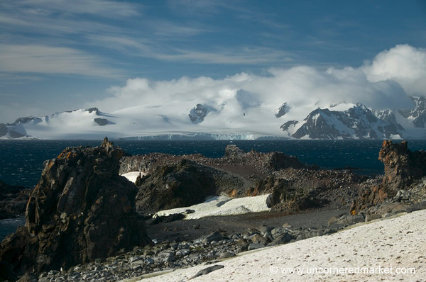 Clear Skies, Mountain Views - Antarctica