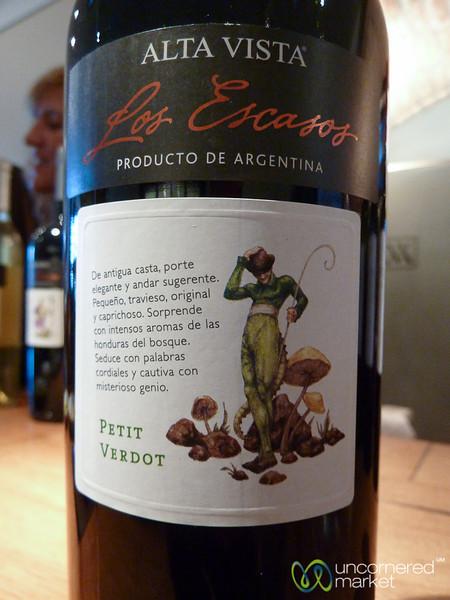 Petit Verdot at Alta Vista Winery - Mendoza, Argentina