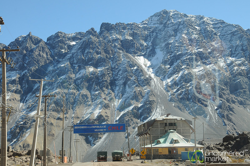 Dramatic Border Crossing - Argentina and Chile