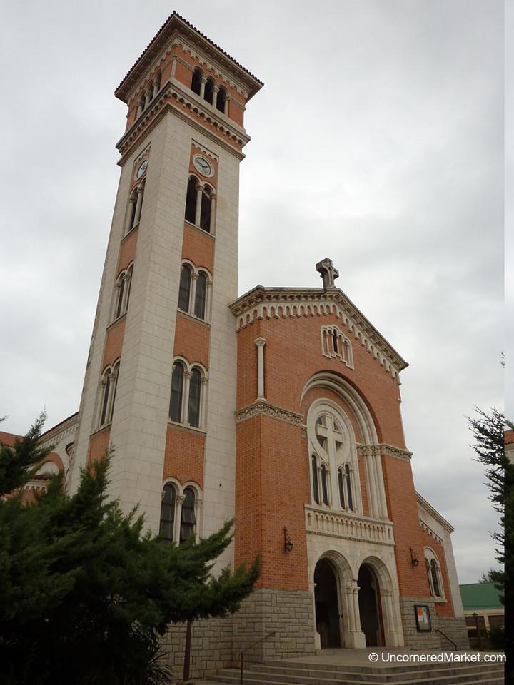 Church in La Falda, Argentina