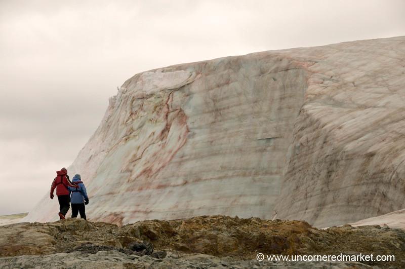 Hiking to the Glacier - Antarctica
